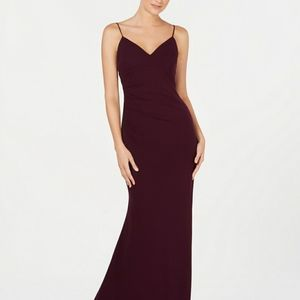 Calvin Klein Side-Ruched Dress
